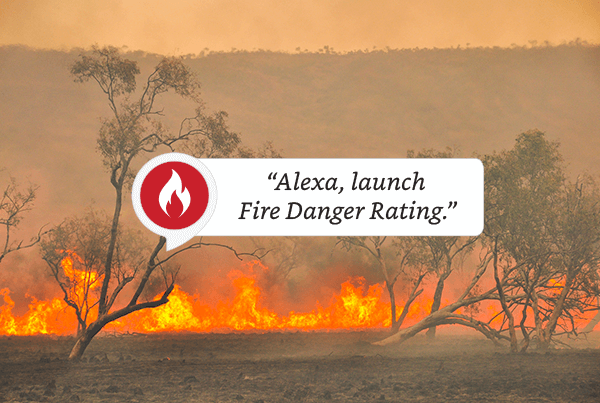 Fire Danger Rating Alexa Skill